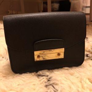 New Furla Julia Crossbody Black Bag